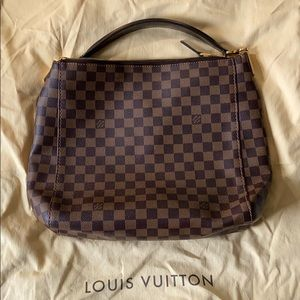 Louis Vuitton Checkered Portobello Handbag